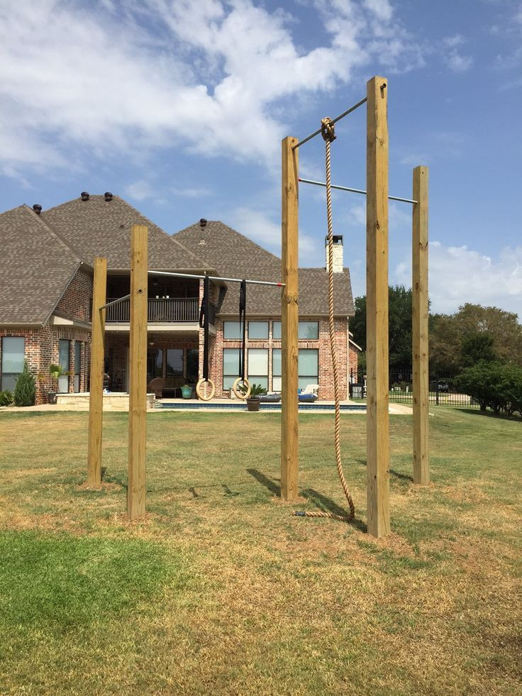 Best ideas about DIY Outdoor Gym . Save or Pin Backyard Crossfit Rig Crossfit Pinterest que Now.