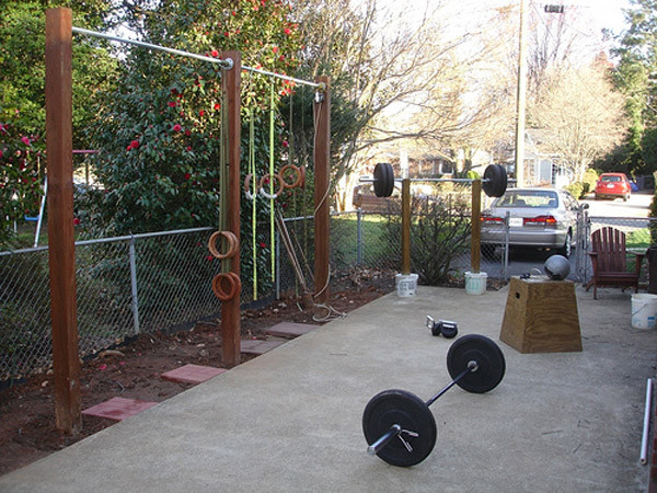 Best ideas about DIY Outdoor Gym . Save or Pin Inspirational Garage Gyms & Ideas Gallery Pg 7 Garage Gyms Now.