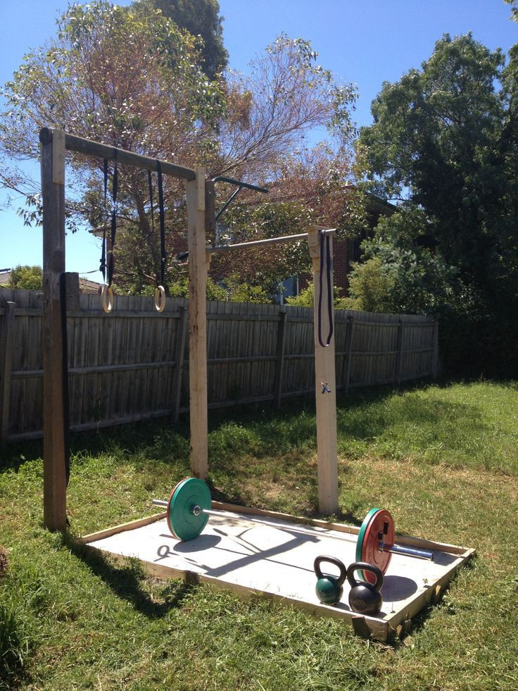 Best ideas about DIY Outdoor Gym . Save or Pin Backyard gym is ting very close to plete just need Now.