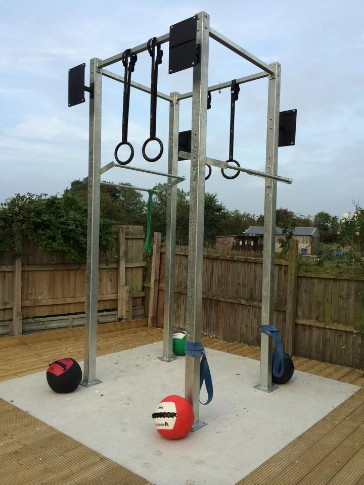 Best ideas about DIY Outdoor Gym . Save or Pin outdoor crossfit rig Google Search Now.