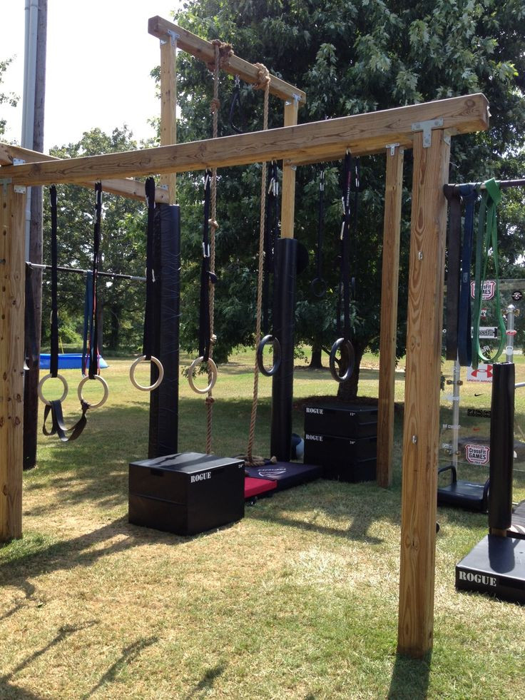 Best ideas about DIY Outdoor Gym . Save or Pin 136 best DIY Outdoor Gym Inspiration images on Pinterest Now.