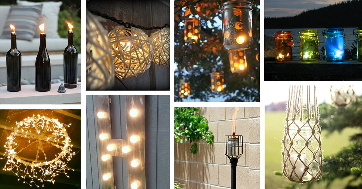 Best ideas about DIY Outdoor Lighting Ideas . Save or Pin 25 Best DIY Outdoor Lighting Ideas and Designs for 2019 Now.