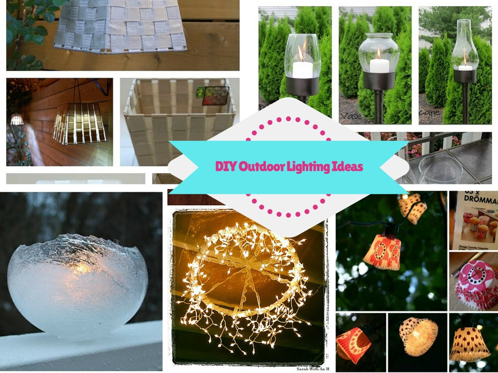 Best ideas about DIY Outdoor Lighting Ideas . Save or Pin 8 Super Bright and Gorgeous DIY Outdoor Lighting Ideas Now.