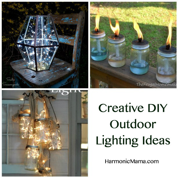 Best ideas about DIY Outdoor Lighting Ideas . Save or Pin Friday Finds Creative DIY Outdoor Lighting Ideas Now.