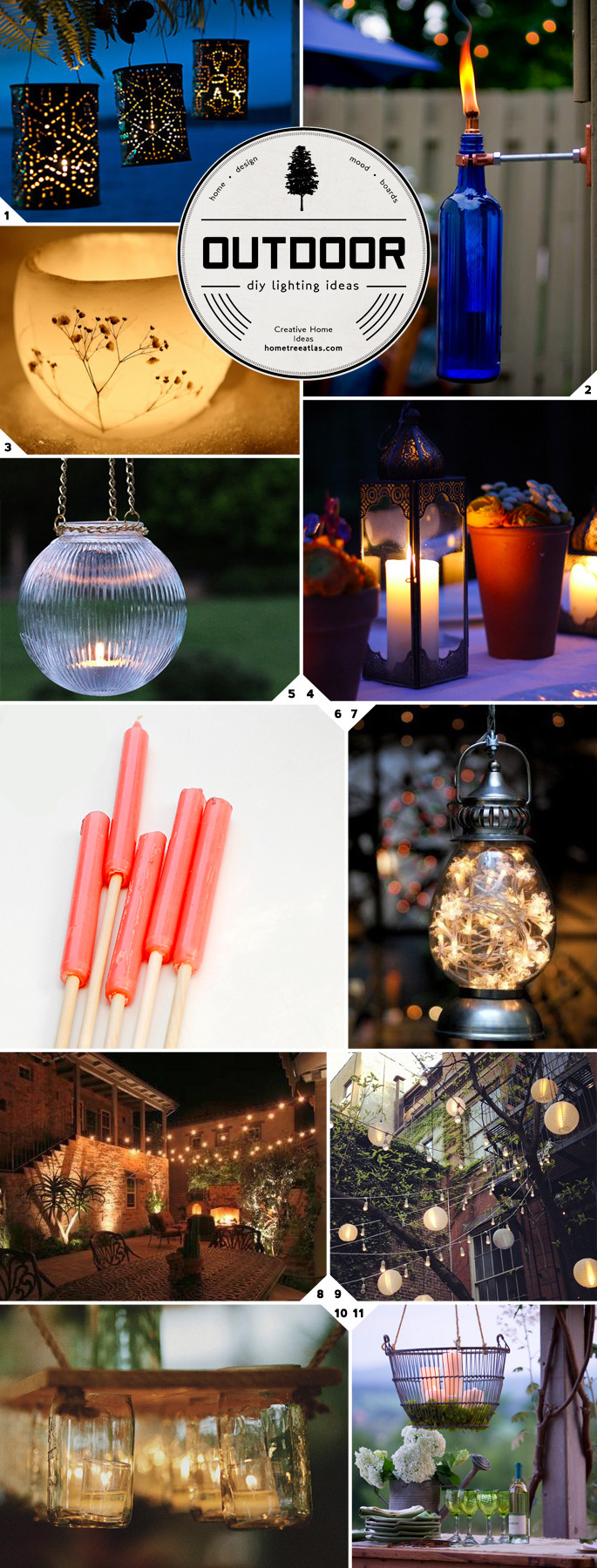 Best ideas about DIY Outdoor Lighting Ideas . Save or Pin Getting Crafty DIY Outdoor Lighting Ideas Now.