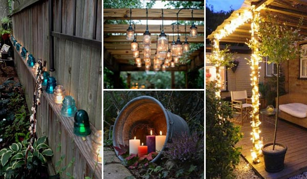 Best ideas about DIY Outdoor Lighting Ideas . Save or Pin Top 28 Ideas Adding DIY Backyard Lighting for Summer Nights Now.