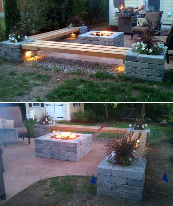 Best ideas about DIY Outdoor Patios . Save or Pin 15 DIY Backyard and Patio Lighting Projects Now.