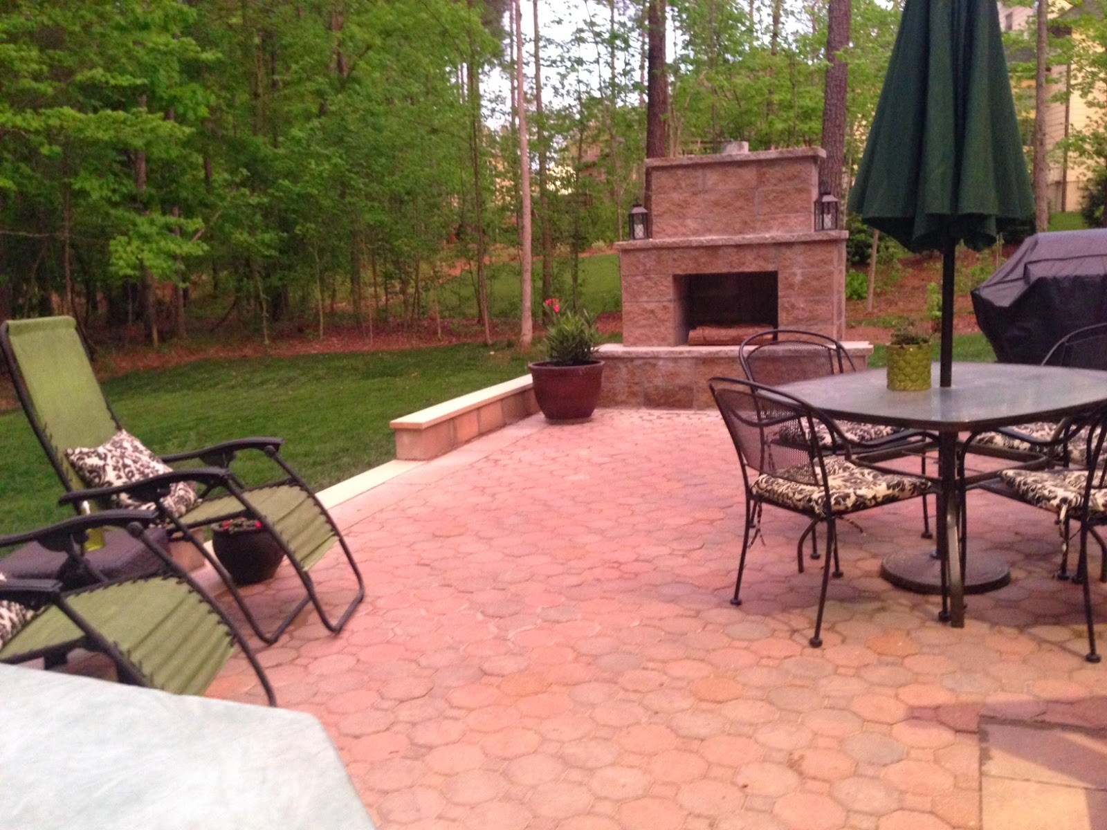 Best ideas about DIY Outdoor Patios . Save or Pin Life in the Barbie Dream House DIY Paver Patio and Now.
