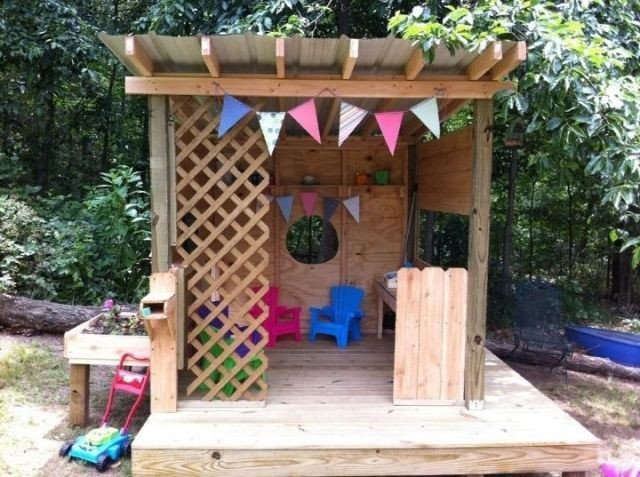 Best ideas about DIY Outdoor Playhouses . Save or Pin 17 Best ideas about Pallet Playhouse on Pinterest Now.