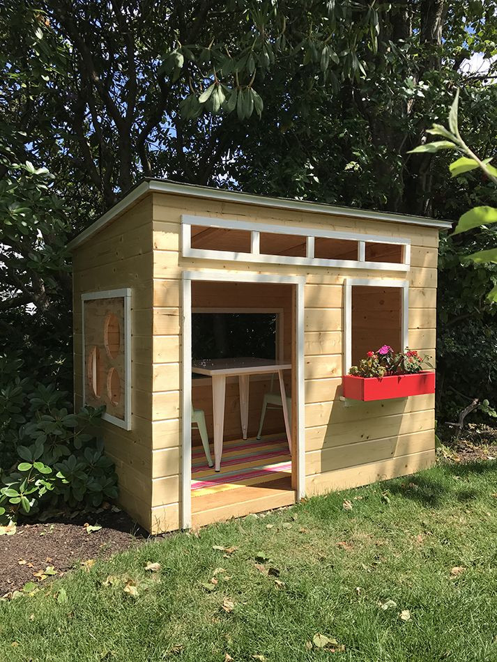 Best ideas about DIY Outdoor Playhouses . Save or Pin Best 25 Wood playhouse ideas on Pinterest Now.