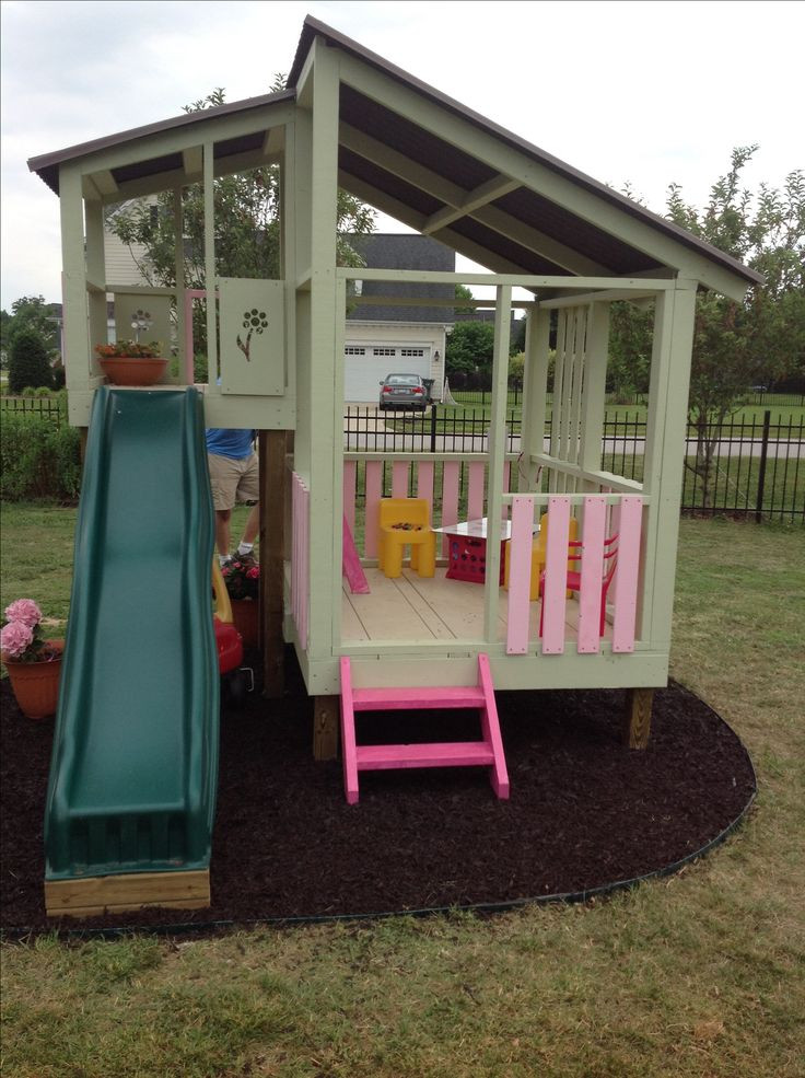 Best ideas about DIY Outdoor Playhouses . Save or Pin Diy playhouse gardening Pinterest Now.