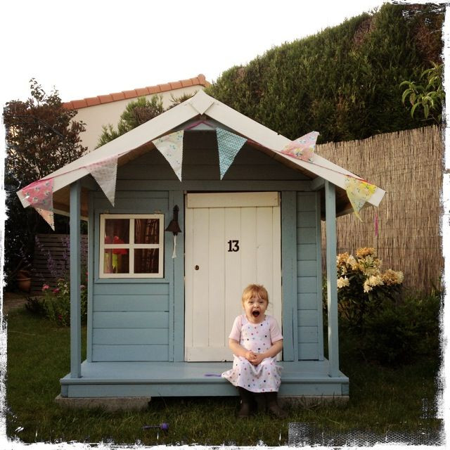 Best ideas about DIY Outdoor Playhouses . Save or Pin 134 best images about CHILDREN S PLAYHOUSES ♦♦ LONGSIGHT Now.
