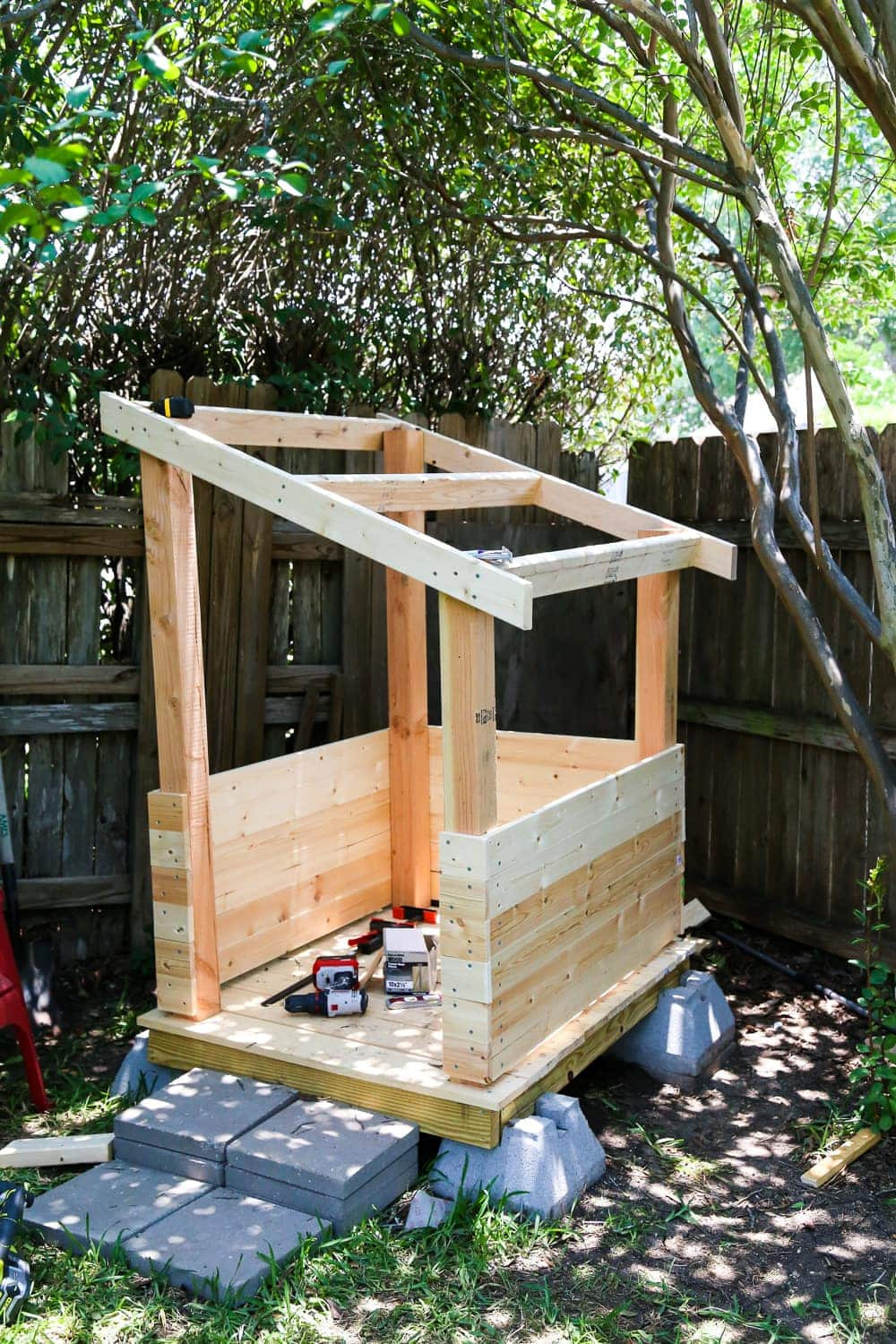 Best ideas about DIY Outdoor Playhouses . Save or Pin DIY Playhouse How to Build a Backyard Playhouse for Your Now.