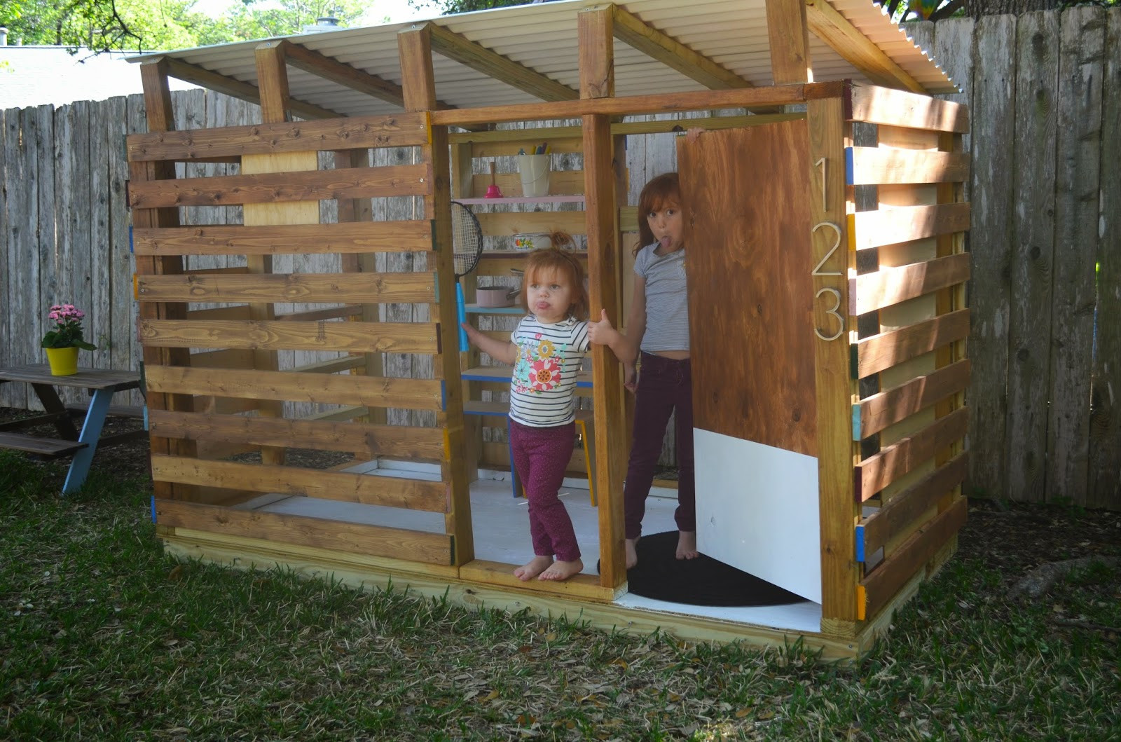 Best ideas about DIY Outdoor Playhouses . Save or Pin modern DIY outdoor playhouse tour and how to Now.