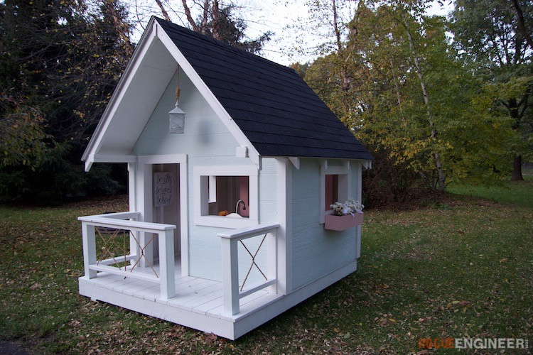 Best ideas about DIY Outdoor Playhouses . Save or Pin Playhouse Rogue Engineer Now.