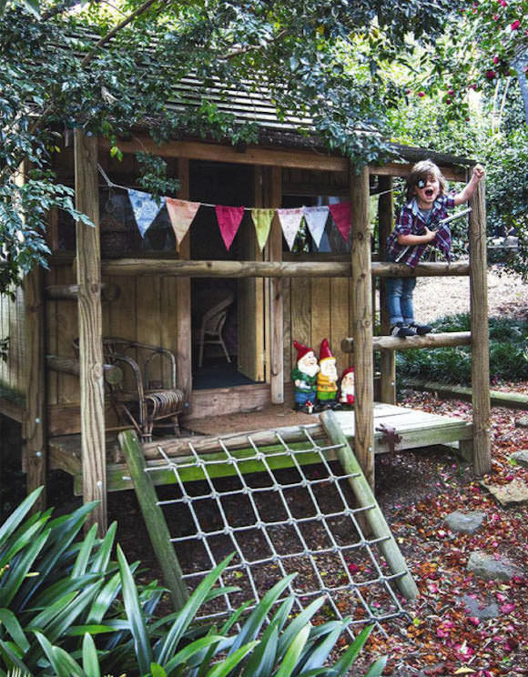 Best ideas about DIY Outdoor Playhouses . Save or Pin Love this little cubby house made from recycled crates By Now.