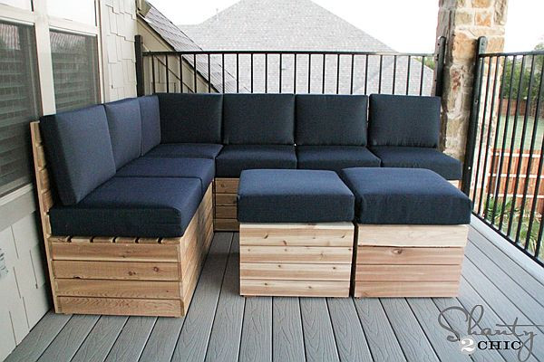 Best ideas about DIY Outdoor Seating . Save or Pin fy & Versatile DIY Modular Outdoor Seating Now.