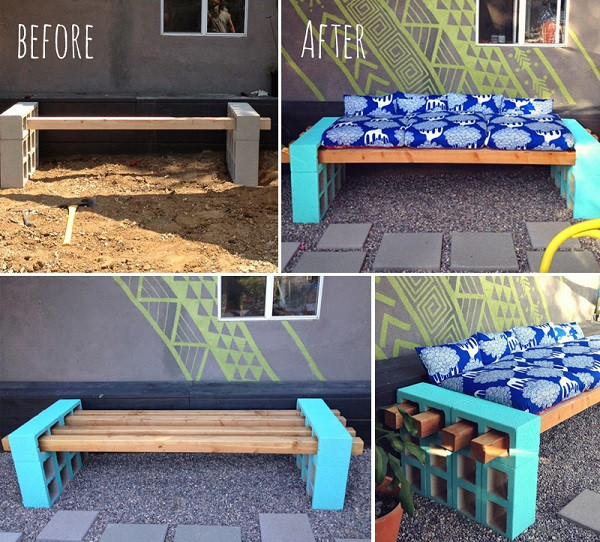 Best ideas about DIY Outdoor Seating . Save or Pin DIY Simple Outdoor Seating Now.