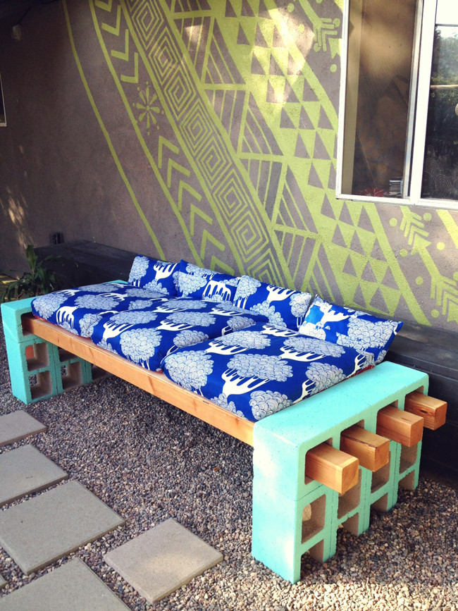 Best ideas about DIY Outdoor Seating . Save or Pin Lena Sekine DIY Outdoor Seating Now.