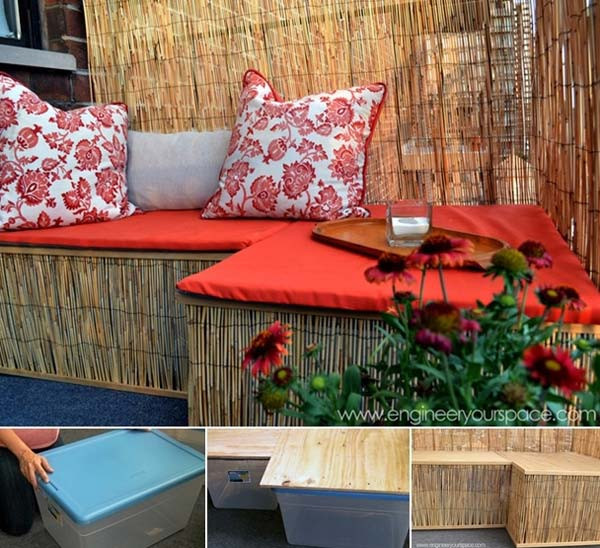 Best ideas about DIY Outdoor Seating . Save or Pin 26 Awesome Outside Seating Ideas You Can Make with Now.