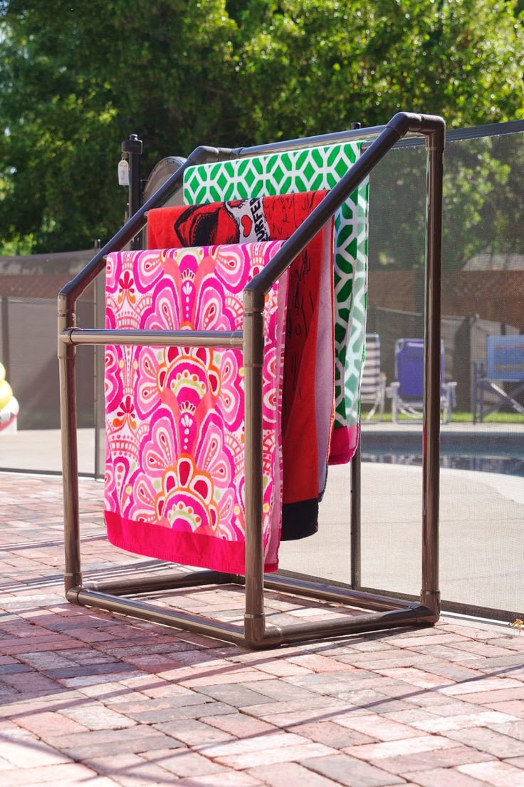 Best ideas about DIY Outdoor Towel Rack . Save or Pin Best 25 Pool towel storage ideas on Pinterest Now.