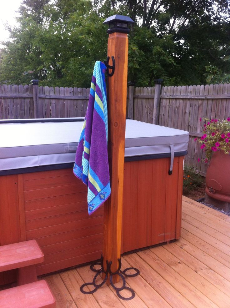 Best ideas about DIY Outdoor Towel Rack . Save or Pin 17 Best ideas about Outdoor Towel Racks on Pinterest Now.