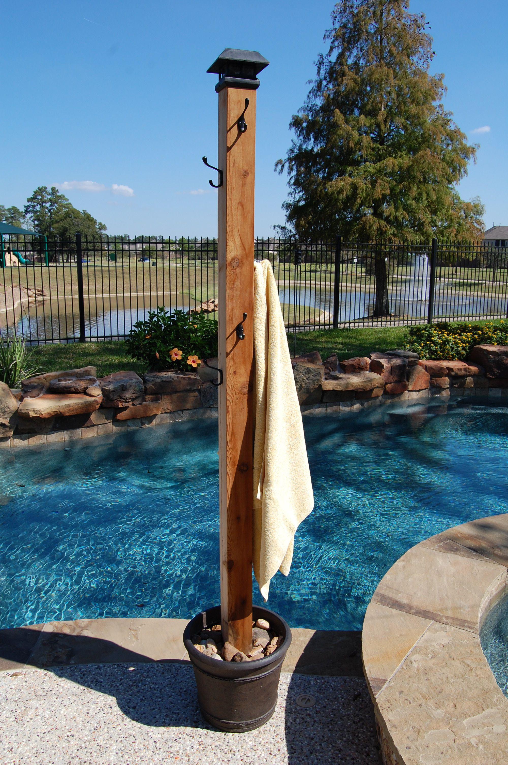 Best ideas about DIY Outdoor Towel Rack . Save or Pin Poolside Towel Rack DIY Pinterest Now.
