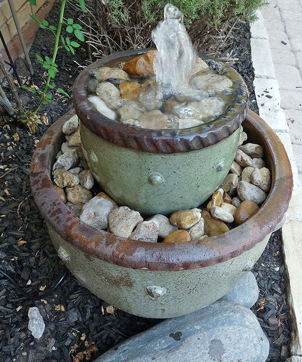 Best ideas about DIY Outdoor Water Fountains . Save or Pin 8 Soothing DIY Garden Fountains Now.