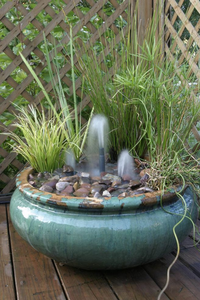 Best ideas about DIY Outdoor Water Fountains . Save or Pin DIY Water Features Inspiration Jamie s clipboard on Now.