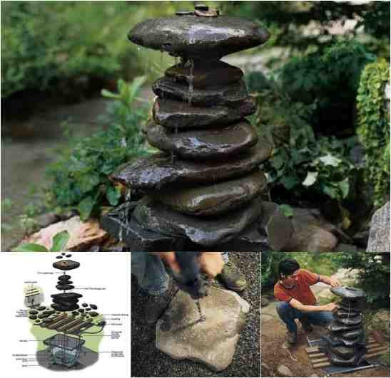 Best ideas about DIY Outdoor Water Fountains . Save or Pin Beautiful DIY Zen Water Fountain Do It Yourself Fun Ideas Now.