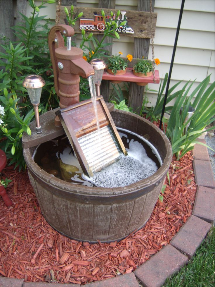 Best ideas about DIY Outdoor Water Fountains . Save or Pin 1000 Fountain Ideas on Pinterest Now.
