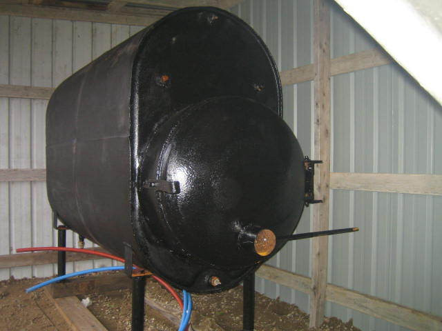 Best ideas about DIY Outdoor Wood Furnace . Save or Pin outdoor wood boiler from junk Now.