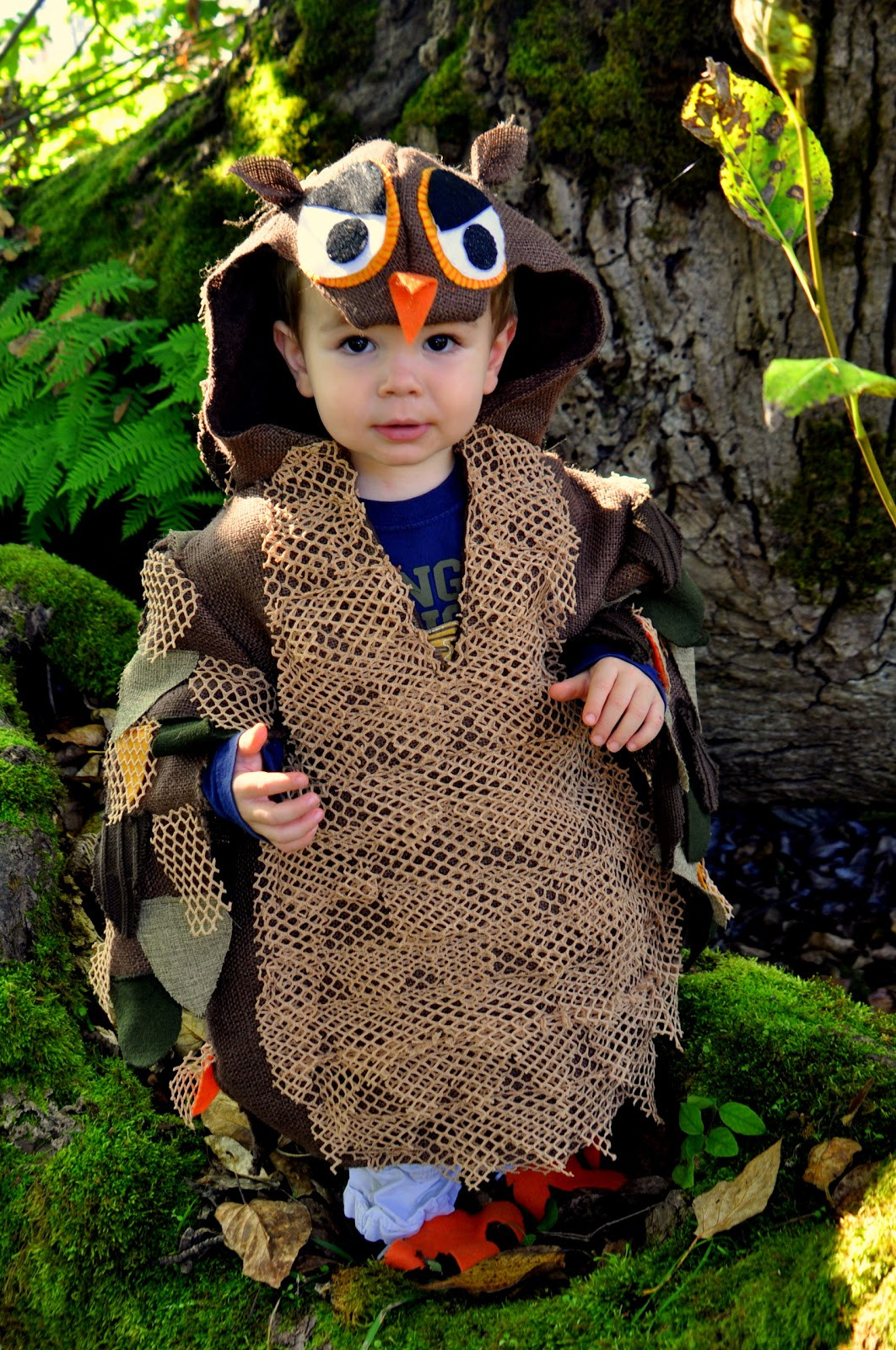 Best ideas about DIY Owl Costumes . Save or Pin SweeterThanSweets Cutest Handmade DIY Kids Halloween Now.