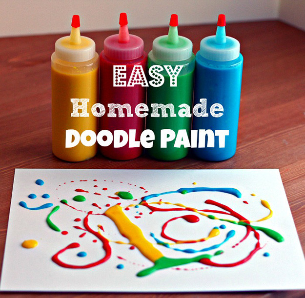 Best ideas about DIY Paint For Kids . Save or Pin 21 Easy DIY Paint Recipes Your Kids Will Go Crazy For Now.