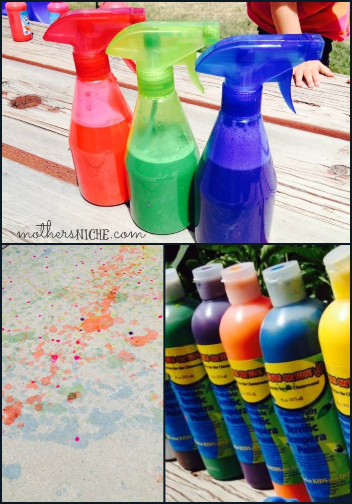 Best ideas about DIY Paint For Kids . Save or Pin DIY Washable Spray Paint for Kids Cash Giveaway Now.