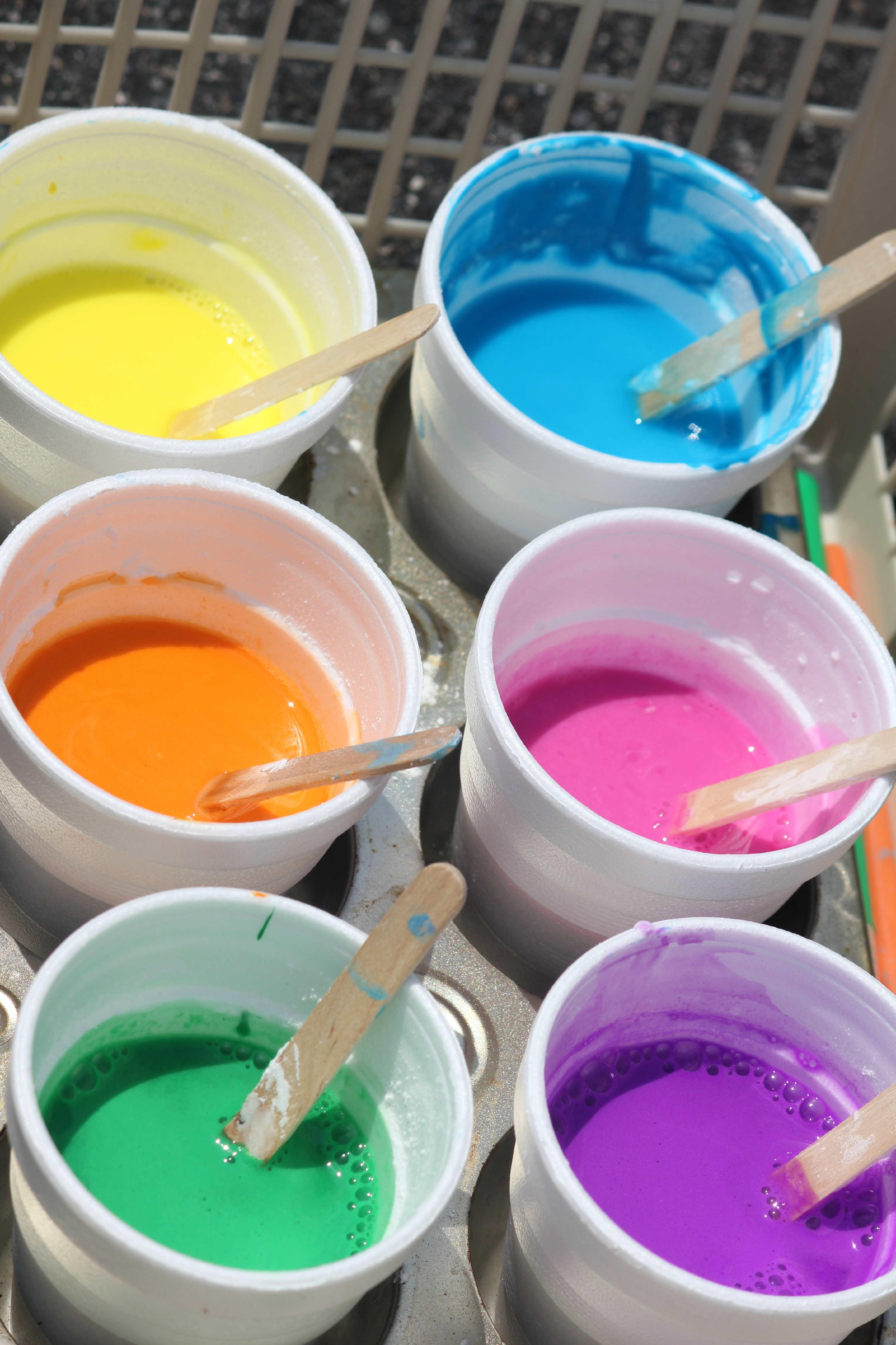 Best ideas about DIY Paint For Kids . Save or Pin DIY washable sidewalk paint Now.