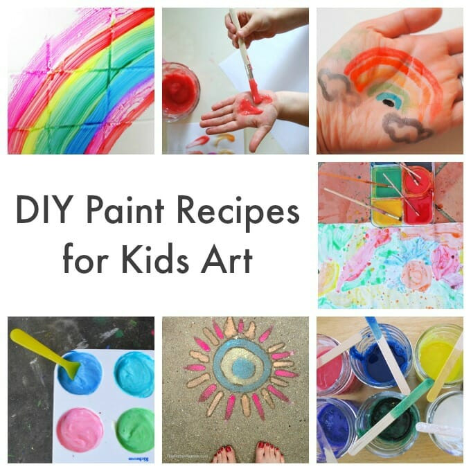 Best ideas about DIY Paint For Kids . Save or Pin Homemade Art Materials for Kids More Than 40 Recipes and Now.