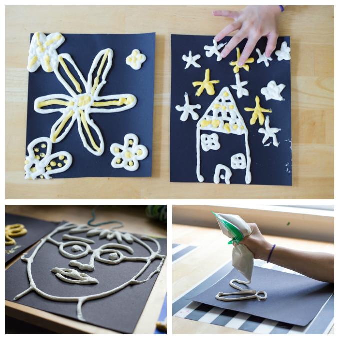 Best ideas about DIY Paint For Kids . Save or Pin DIY Puffy Paint for Kids that is Actually Puffy A Simple Now.