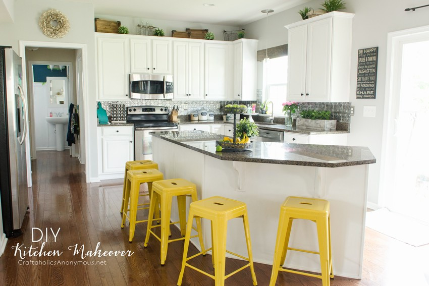 Best ideas about DIY Paint Kitchen Cabinets White . Save or Pin Craftaholics Anonymous Now.