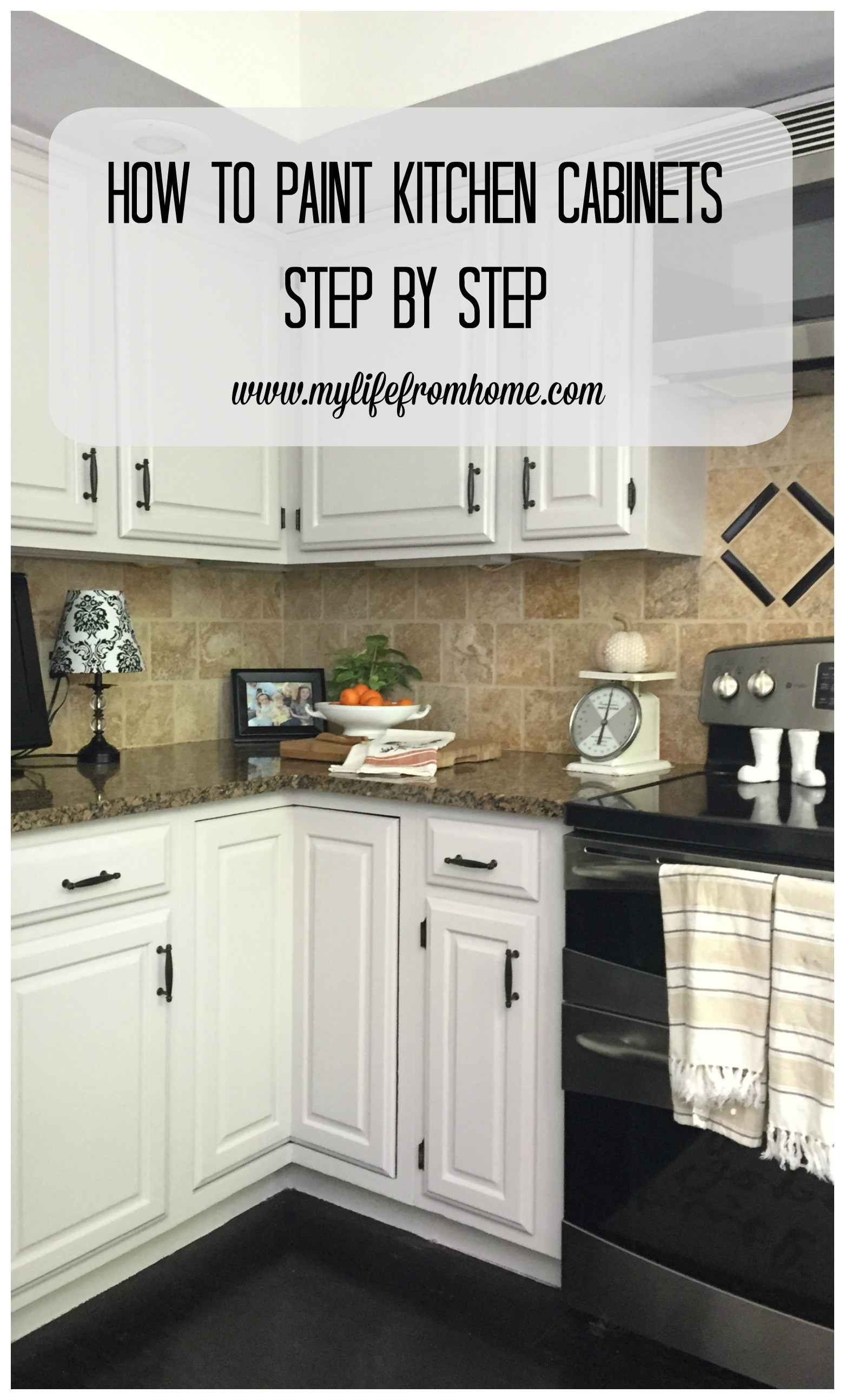 Best ideas about DIY Paint Kitchen Cabinets White . Save or Pin DIY How I Painted My Kitchen Cabinets Now.