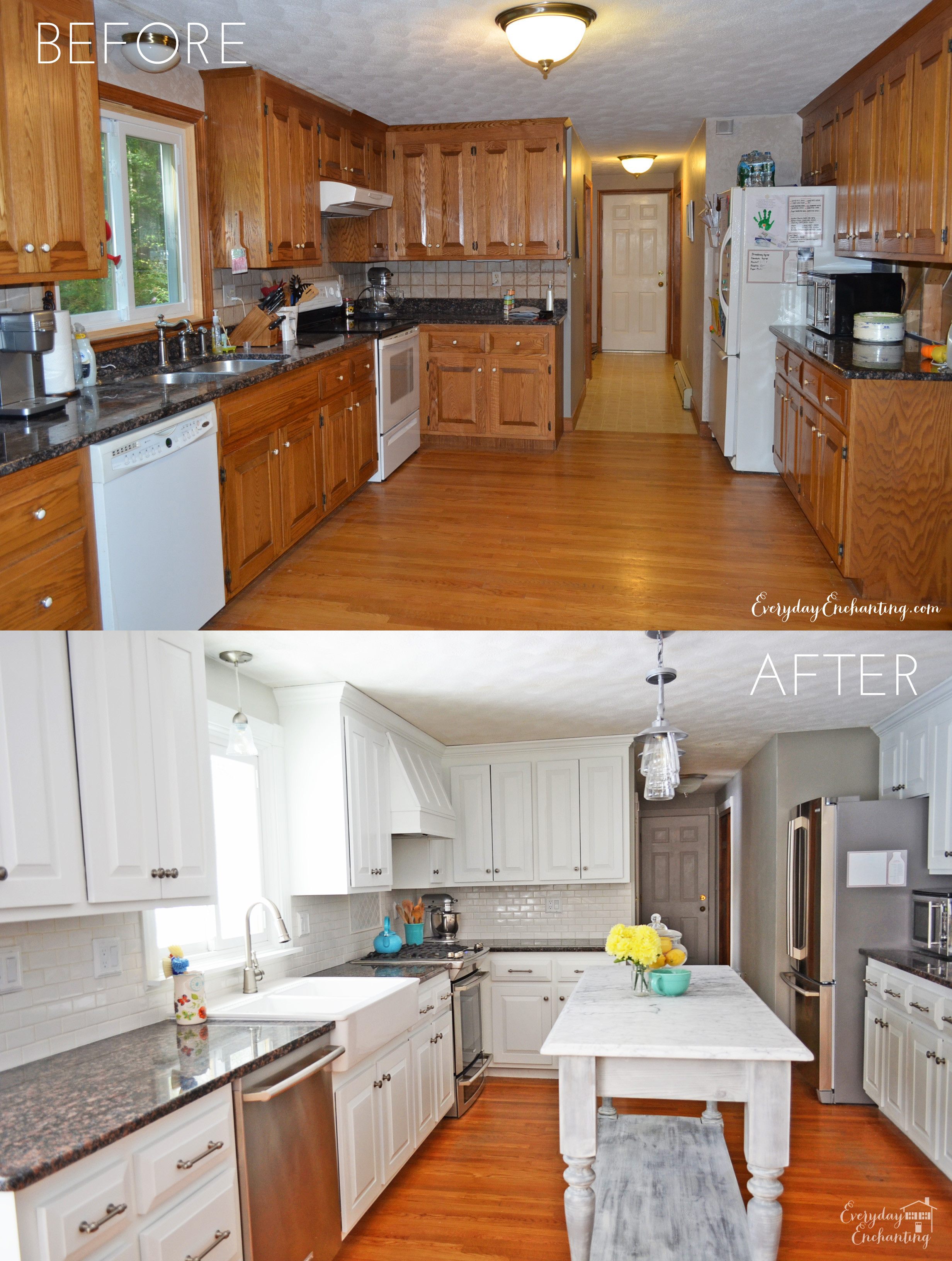 Best ideas about DIY Paint Kitchen Cabinets White . Save or Pin Update Your Kitchen Thinking Hinges Evolution of Style Now.
