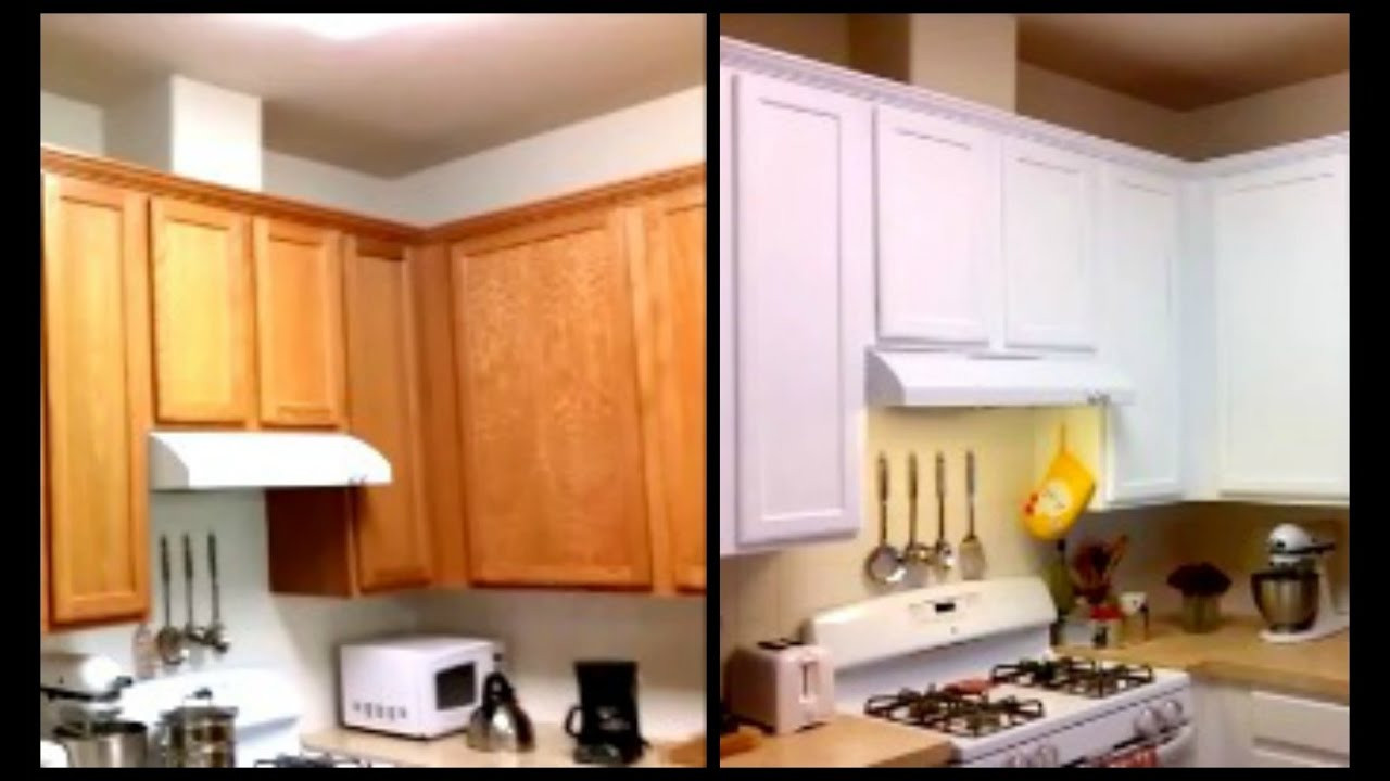 Best ideas about DIY Paint Kitchen Cabinets White . Save or Pin Paint Cabinets White For Less Than $120 DIY Paint Now.