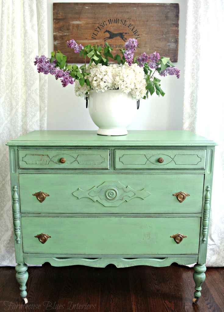 Best ideas about DIY Painted Furniture Ideas . Save or Pin Sweet bureau painted in Country Chic Paint s Rustic Charm Now.