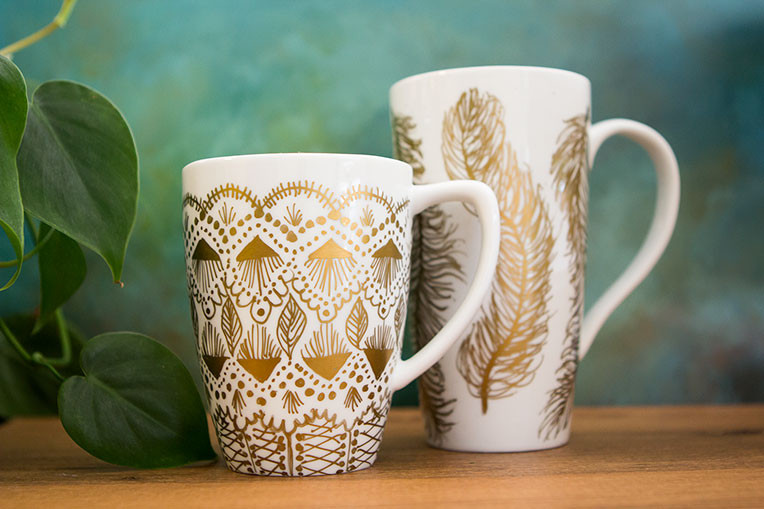 Best ideas about DIY Painted Mugs . Save or Pin 50 DIY Sharpie Art Ideas Now.