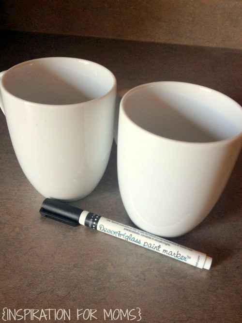 Best ideas about DIY Painted Mugs . Save or Pin DIY Painted Mug Tutorial Now.