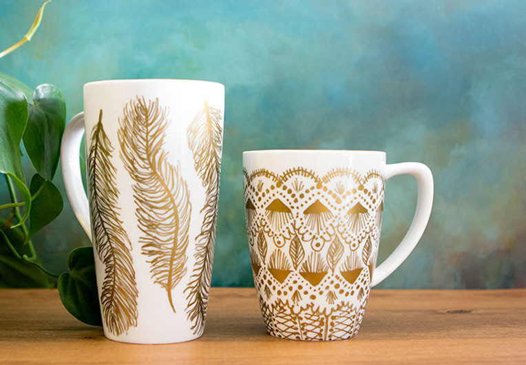 Best ideas about DIY Painted Mugs . Save or Pin DIY Mug Makeover – SISOO Now.