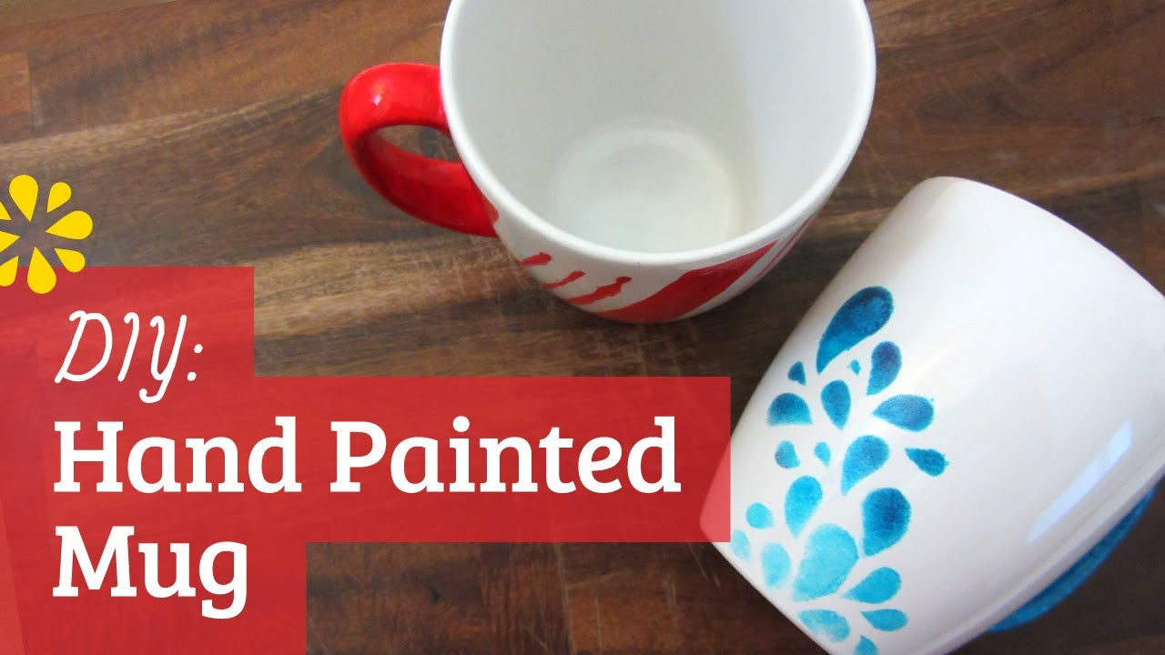 Best ideas about DIY Painted Mugs . Save or Pin DIY Hand Painted Mug Now.