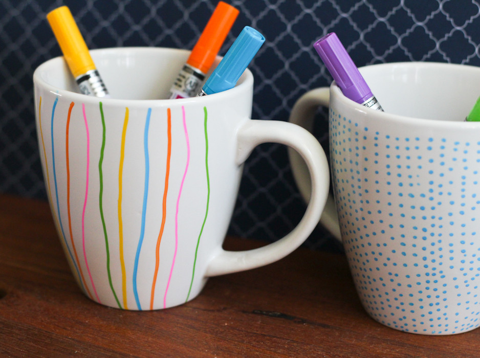 Best ideas about DIY Painted Mugs . Save or Pin Painted Mugs The Crafted Life Now.