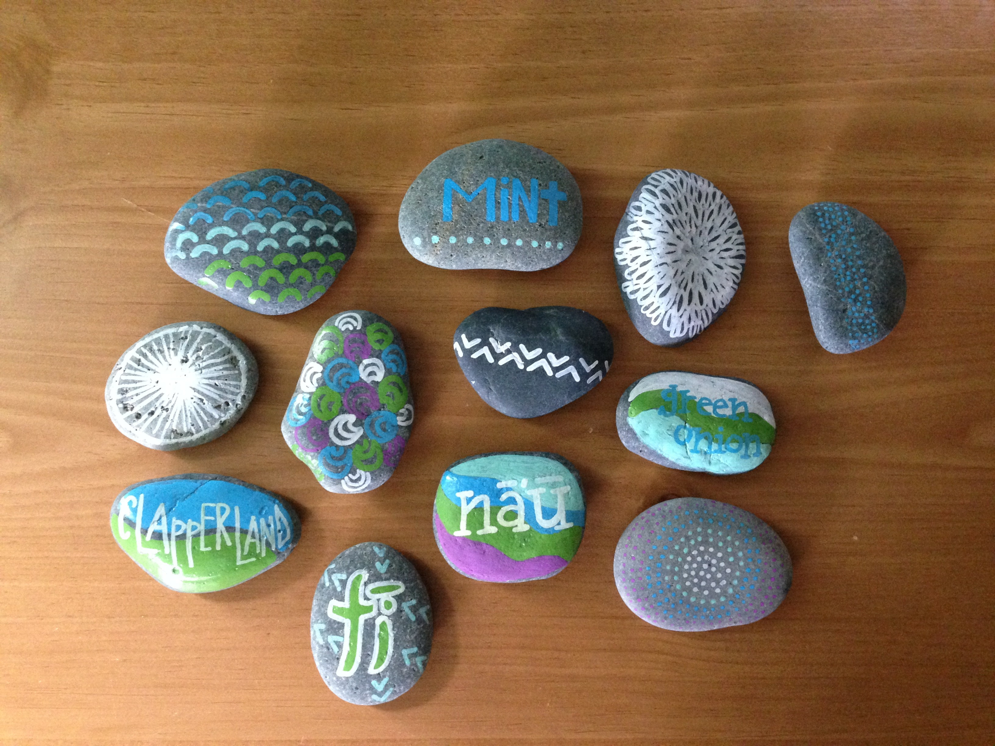Best ideas about DIY Painted Rocks . Save or Pin DIY Hand Painted Garden Rocks – hawaiianstylehale Now.