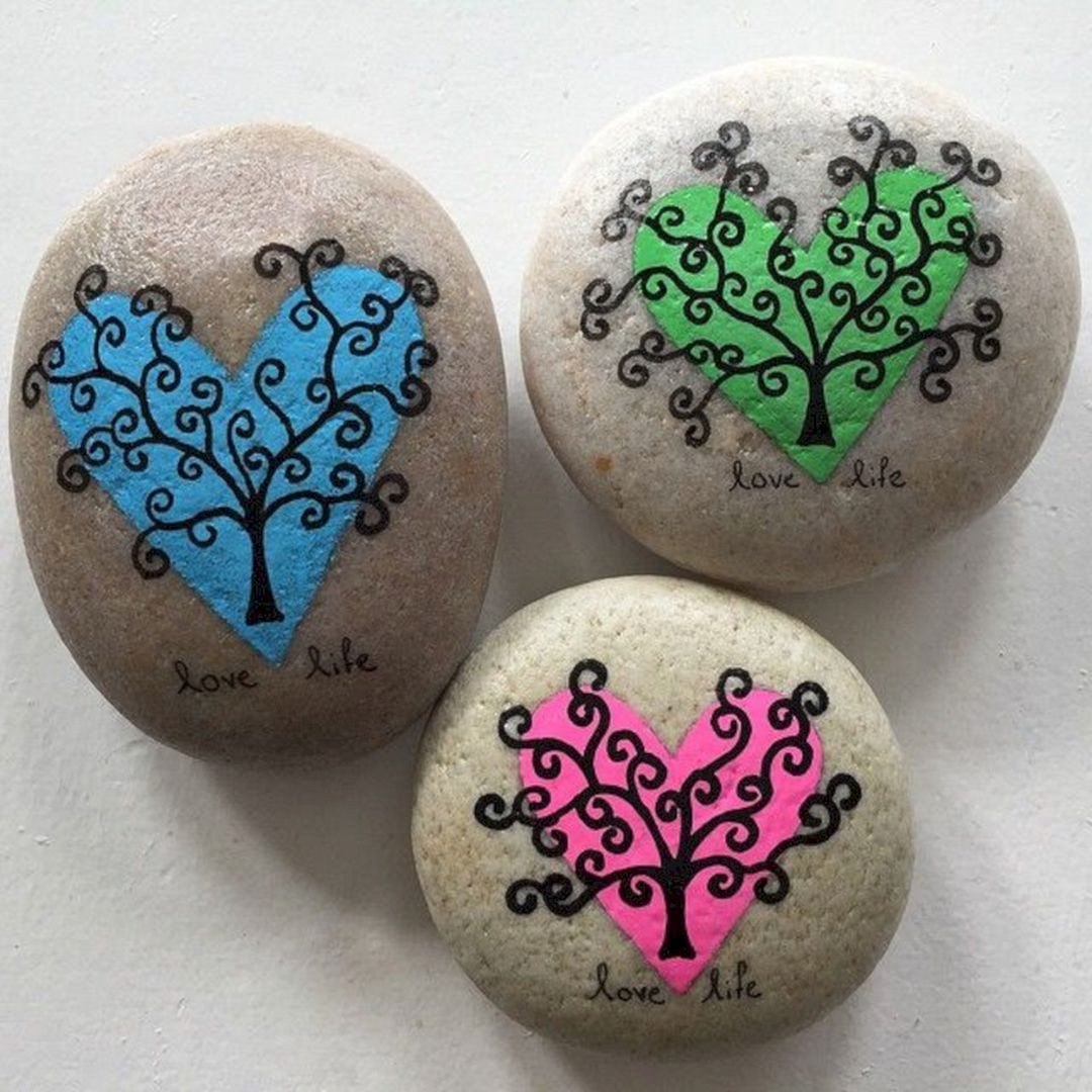 Best ideas about DIY Painted Rocks . Save or Pin Awesome DIY Rock Painting Ideas 45 Best Inspirations Now.